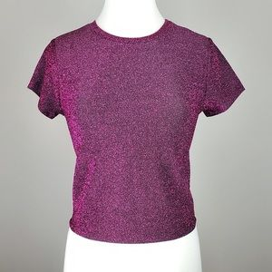 Pink sparkly top size XXL